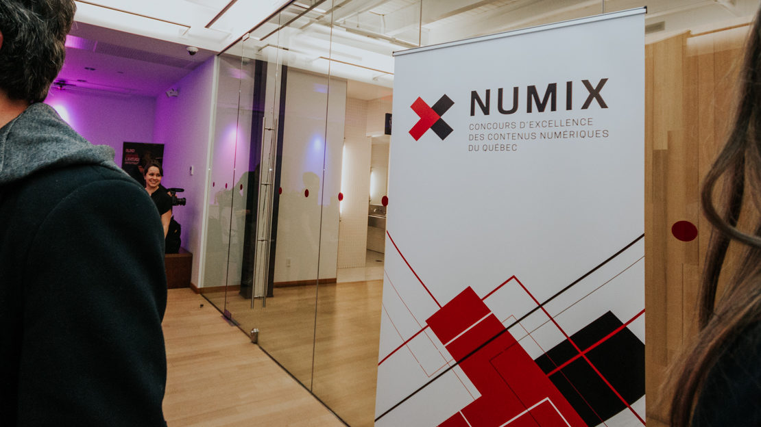 Dévoilement des finalistes de la 9e édition des NUMIX