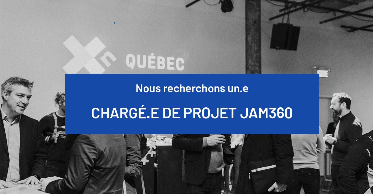 Chargé.e de projet Jam360